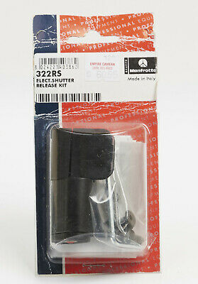 Manfrotto 322RS Electronic Shutter Release Kit for 322RC2 Ball Head NEW NOS Shutter Release Kit