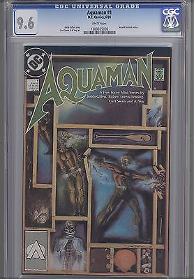 Aquaman #1 CGC 9.6 1989 DC Comic