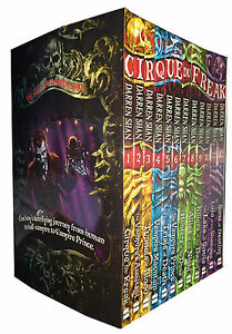 The Saga of Darren Shan 12 Books Collection Set Cirque du Freak, Vampires, Blood