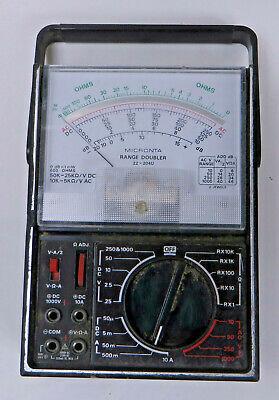 Micronta Multitester 22-204u Radio Shack Range Doubler 43 Range 50000 Ohms