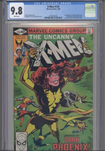 Uncanny X-Men #135 1980 Marvel CGC 9.8 Spider-Man  Byrne & Austin Art:New Frame