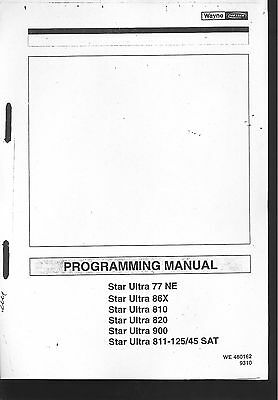 Wayne Dresser Dispensers Programming Manual