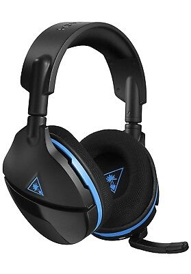 Wireless Gaming Headset Mic Ps4 Stereo Surround Sound Turtle Beach Stealth 600