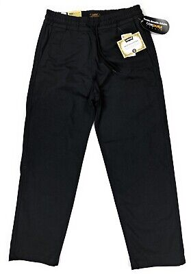 Levis Skateboarding Collection Easy Pants Mens Black Straight Fit -