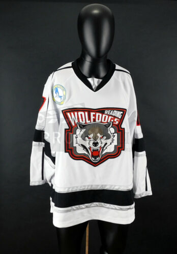 GOON LAST OF THE ENFORCERS Wolf Dogs Hockey Brown Jersey Prop