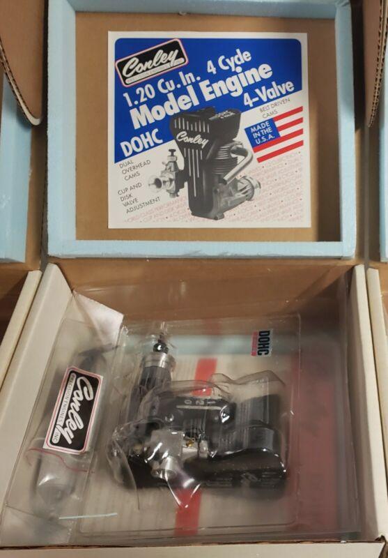 Conley 1.20 4 Stroke Dual Overhead Cam Very Rare Engine. Brand New!