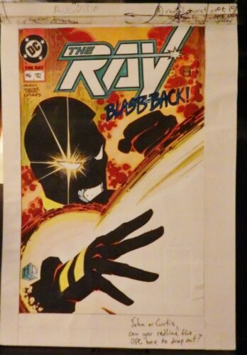 THE RAY #6 THE COVER & ALL 22 INTERIOR PAGES COLORGUIDE PRODUCTION ART-1994