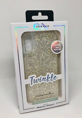 Authentic Mate - New Authentic Case Mate Twinkle Case for iPhone X iPhone XS Iridescent Clear