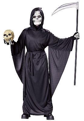 Child Fancy Grim Reaper  Costume - Boys Grim Reaper Costume