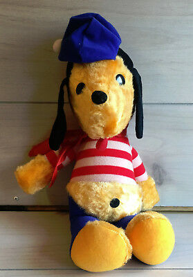 "A53 Vintage Genie French Puppy Dog Plush! 15"" Lovey Stuffed Toy Carnival Prize"