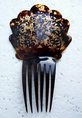 Victorian Wigs, Hair Pieces  | Victorian Hair Jewelry Victorian hair comb faux tortoiseshell Spanish style hair ornament $150.00 AT vintagedancer.com