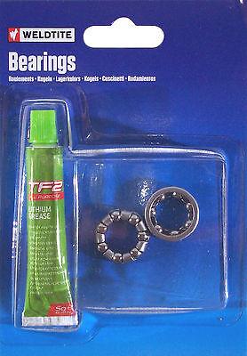 Weldtite Bike Set Ball Bearing 3 16  Lithium Grease Lubricant Bearings Hub Wheel