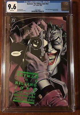BATMAN: THE KILLING JOKE, DC COMICS, 1988, CGC 9.6 Joker cripples Batgirl