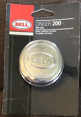 Bell Sports Dinger 200 Chrome Bike Dinger Bell