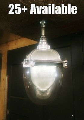 VTG Holophane Triple Glass Explosion Proof Light Industrial Substation Pendant