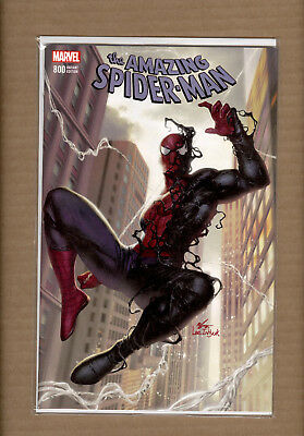 AMAZING SPIDER-MAN 800 IN-HYUK LEE BLACK COSTUME VARIANT - Amazing Spider Man Costumes