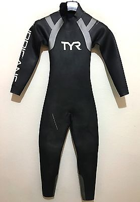 6053c3636496a TYR Womens Hurricane Category 1 Triathlon Wetsuit Size Female Small S -  290