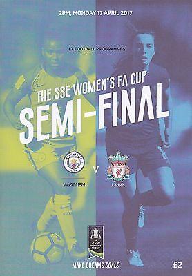 BOTH 2017 WOMENS FA CUP SEMI-FINALS  BIRMINGHAM v CHELSEA & MAN CITY v LIVERPOOL