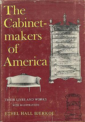 American Antique Furniture Cabinetmakers - Names Bios Dates Locations Etc / Book