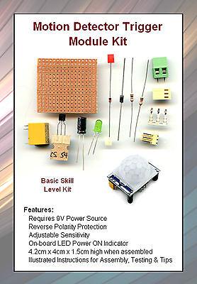1 Kit  Motion Detector Trigger Module w/ PIR Sensor  NEW -Model RR Animation #29