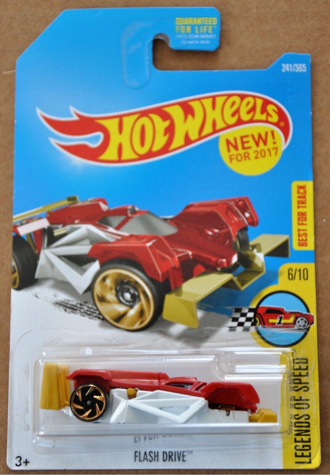 2017 Hot Wheels Flash Drive 241/365 Legends of Speed 6/10 ER