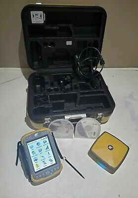 Topcon Hiper Sr Network Rover With Tesla Tablet And Carry Case Set Magnet Field