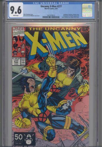 Uncanny X-Men #277 CGC 9.6 1991 Marvel Jim Lee Comic: New Frame