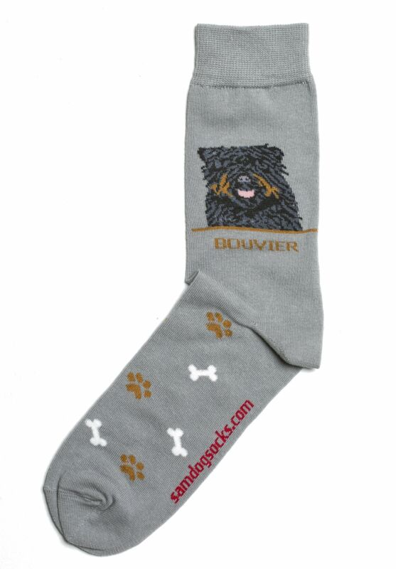 Bouvier des Flandres Dog Socks Mens