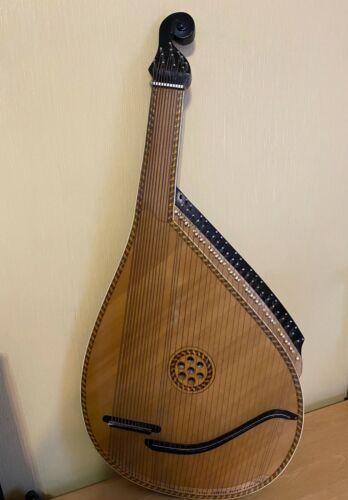 Bandura USSR Soviet Ukranian National Folk Instrument Bandyra Vintage