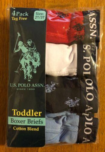 U.S. Polo Assn. Toddler Boxer Briefs Underwear Boys