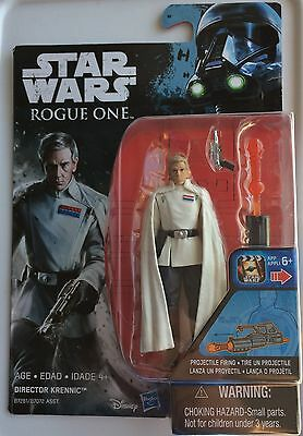New Hasbro STAR WARS ROGUE ONE     DIRECTOR KRENNIC 3.75 inch Action Figure