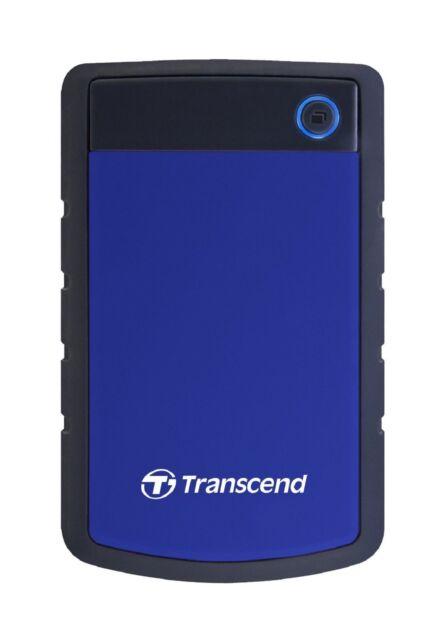 Transcend HDD  1 TB StoreJet 25H3 Blue Portable External Hard Disk  New ct