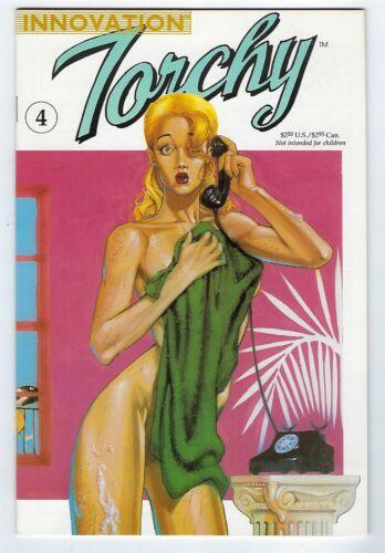 Torchy #4 1991 Good Girl Art Brian Stelfreeze cover