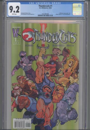 Thundercats #1 CGC 9.2 Wildstorm 2002 Ed McGunness Cover : NEW Frame