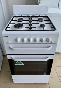 CHEF 540mm upright gas stove as new condition