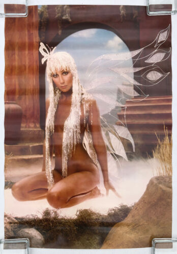 CHER Prisoner 1979 Harry Langdon POSTER Isis Productions Butterfly Wings