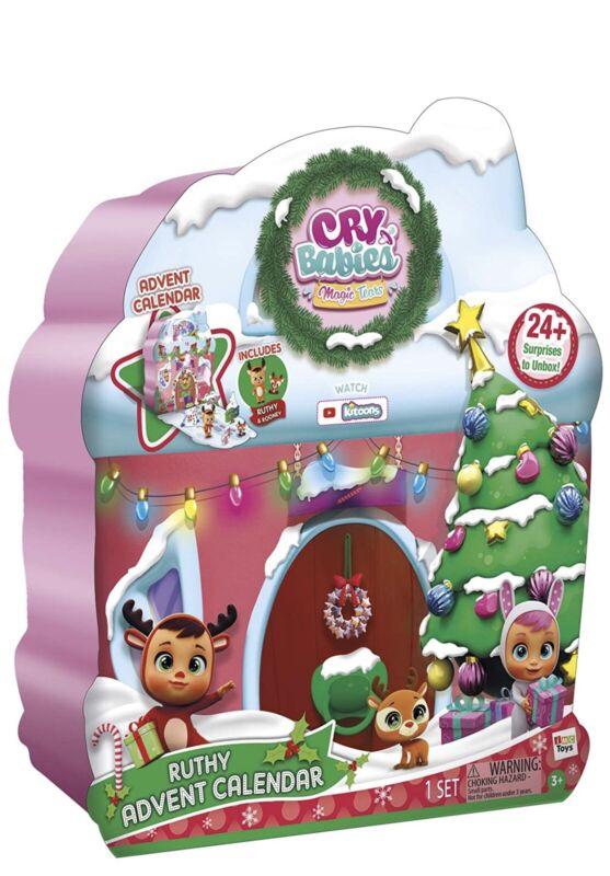 Cry Babies Magic Tears Ruthy Christmas Set