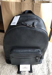 Sale Authentic Coach Backpack Natural Leather