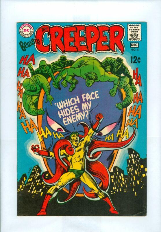 Beware The Creeper #4 FNVF Ditko, Giordano, Proteus