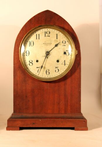 Antique Seth Thomas 4-Bell Sonora Chime Clock No. 16