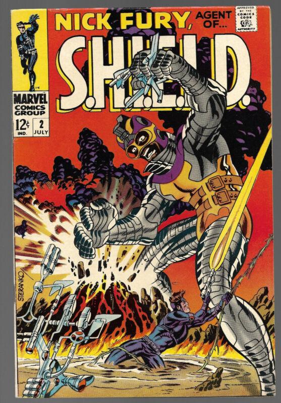 Nick Fury #2......Marvel Comics 1968.....VF-