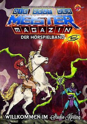 DER MEIMAG-HÖRSPIELBAND - 332 Seiten MotU He-Man She-Ra Hörspiele NEU