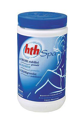 hth SPA Whirlpool  Chlor Chlorgranulat stabilisiert  Wasser Desinfektion 1,2kg