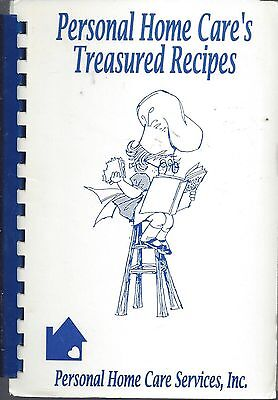 *STERLING HEIGHTS MI 1994 PERSONAL HOME CARE'S TREASURED RECIPES COOK BOOK *RARE