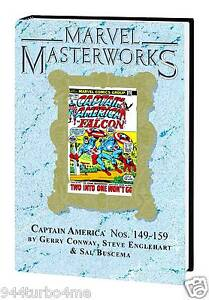 Marvel Masterworks #204 CAPTAIN AMERICA Volume #7 DM Variant Hard Cover $70
