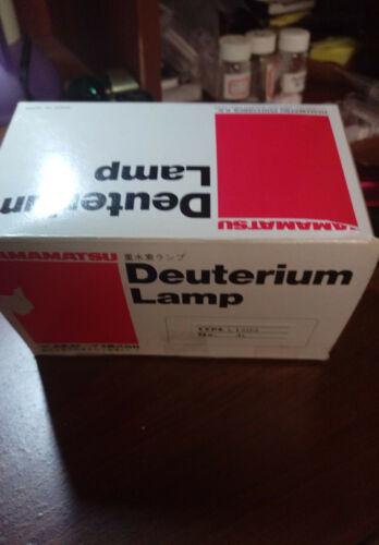 HAMAMATZU DEUTERIUM LAMP L 1403