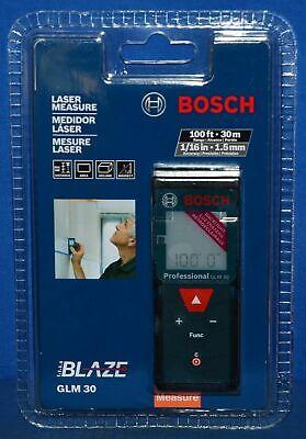 BOSCH BLAZE GLM 30 100ft LASER MEASURE NEW SEALED