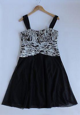 Women's JS BOUTIQUE Bodice Dress UK 12. USA 10 France 40. Worn Once