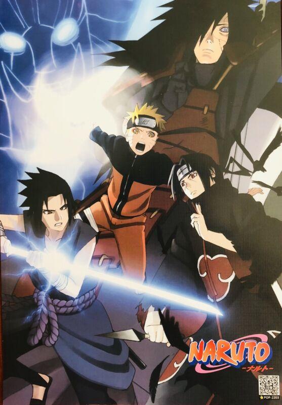 Japanese Anime NARUTO Shippuden Poster #E7 Sasuke Kakashi Sakura