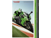 Kawasaki Prospekt 2008 1400 GTR KX 450 F VN 2000 Z 1000 Motorrad Broschüre Bike